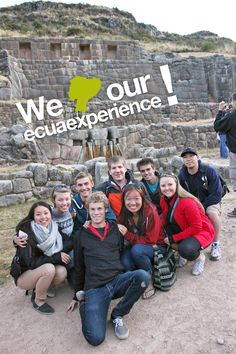 We loved our Ecuaexperience!  Extra Week - Machu Picchu, Peru  Apply now!    www.ecuaexperience.com Machu Picchu, Our Love, Peru, How To Apply, The Incredibles, Friends, Amazing, Check, Summer