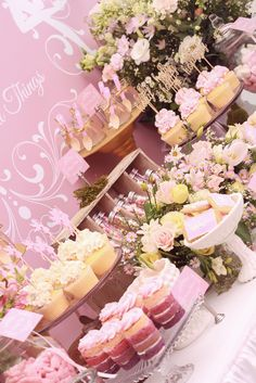Amazing treats at a Pink Fairies Birthday Party!  See more party ideas at CatchMyParty.com!