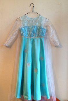 Disney Inspired Frozen Snow Queen Elsa Girl's Costume Dress (sizes regular and plus) Elsa Halloween Costume, Frozen Costume, Princess Costumes, Girl Costumes, Frozen Makeup, Frozen Snow Queen, Elsa Cosplay, Dear Mom, Queen Elsa