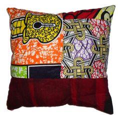 Pochette porte monnaie ou porte carte en pagne africain et jean porte monna - Code reduc vente unique ...