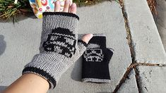 Ravelry: Storm Trooper Mitts pattern by Northbound Studio