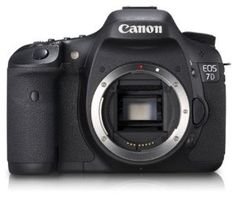 Canon EOS 7D 18 MP CMOS Digital SLR Camera with 3-Inch LCD (Body Only)$1,199.00 - Canon EOS