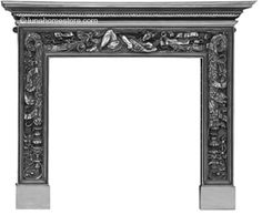Mayfair Fireplace Surround Full Polish Finish      Cast Iron     Available in Full Polish finish     (version shown)     Suitable for all our cast iron insets Online Sale Price: £695.00 r.r.p: £1222 saving: £527