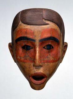 "Simeon Stilthda. ""Mask,"" ca. 1880, in Fenimore Art Museum, T0188, http://collections.fenimorea"