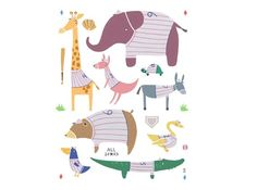 cute animal illustration http://www.facebook.com/BobiAustralia