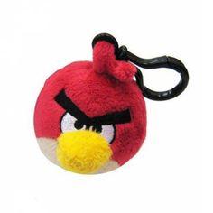 #Peluche Clip Angry Birds (Rojo) .   http://www.opirata.com/es/peluche-clip-angry-birds-rojo-p-22303.html