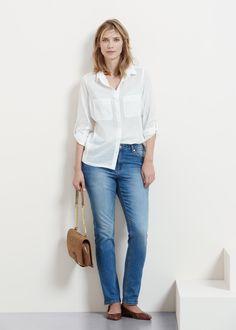 369cc2893c Jeans slim Susan 30 sur Violeta By Mango