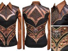 Black, Bronze & Gold Vest Set