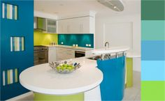 Paletas de colores para decorar un ambiente