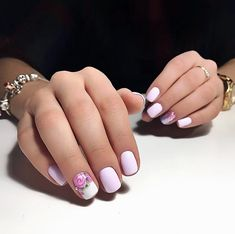 122 best Almond nails 2018 images on Pinterest in 2018 | Cute spring ...