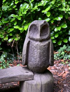 Whipsnade Tree Cathedral, Owl
