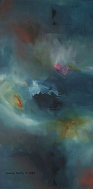"""Saatchi Online Artist: Joanne Duffy; Acrylic, 2009, Painting """"The Promise"""""""