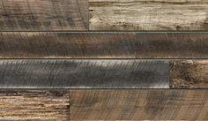Reclaimed Wood Plank Textured Slatwall - can hold slatwall accessories.