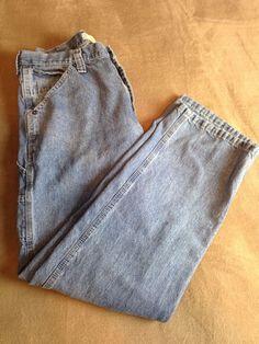 Lee men's dungarees bootcut carpenter jeans