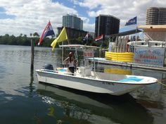 Power boats, fully equipped