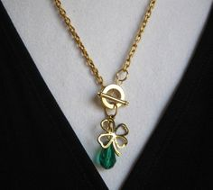 EMERALD ISLAND necklace.  I'm told there are only two available at this time.  And then there's going to be a wait.  If you want one--go get it! $24.00.  http://www.etsy.com/listing/123884381/emerald-island?#