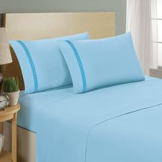 You'll love the Chevron Double Brushed Sheet Set at Wayfair - Great Deals on all Bed & Bath  products with Free Shipping on most stuff, even the big stuff.