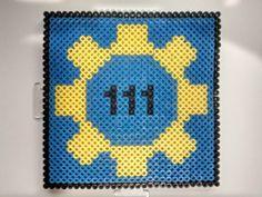 111 vault fallout perler