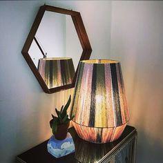Lampshades, Decoration, Interior Design, Lighting, Diy, Handmade, Wool, Home Decor, Hand Made