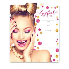 Multicolor-Gutschein KS271 - ein Gutschein für Kosmetik und Nagelpflege