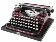 Underwood 4-Bank Portable in Colors (c.1928)