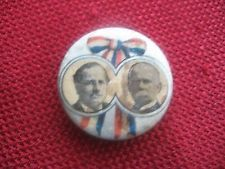 RARE POLITICAL CAMPAIGN PINBACK PIN BUTTON 1896 PRESIDENTIAL CELLULOID PHOTO?