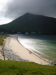 [ Image Source ] Achill Island in County Mayo is the largest island off the coast of Ireland, and is situated off the west coast. Dublin Ireland, Ireland Travel, Cork Ireland, Ireland Vacation, Vacation Travel, Irish Landscape, Ireland Landscape, Places To Travel, Places To See