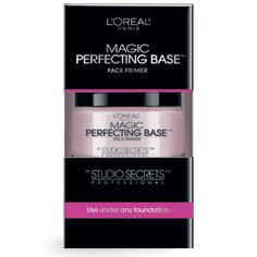 """Studio Secrets Professional Magic Perfecting Base from L'Oreal Paris..... Seriously raving reviews from everyone and even a girl who says she """"appears cool even on the muggiest of days.""""  (~7.00 at Target.com)"""