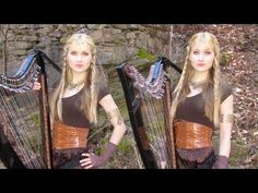The Rains of Castamere: Game of Thrones (Lannister Song) Harp Twins - Camille and Kennerly Lannister Song, Wedding Ceremony Music, Johnny Marr, George Rr Martin, Tv Show Games, Music And Movement, Take My Breath, Winter Is Coming, Favorite Tv Shows