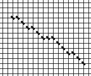 needlepoint stitch  slant match