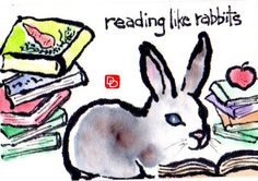 Reading like rabbits