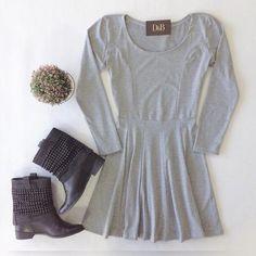 Vestido Boneca mescla