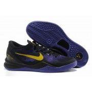 Nike Zoom Kobe VIII Mens Basketball Shoes Black Yellow Purple $89.90 http://www.blackgoto.com/nike+zoom/