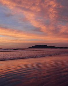 Sunset in Tamarindo Costa Rica. Sunset art pictures photographed by Kristen M. Brown, Samba to the Sea for The Sunset Shop.