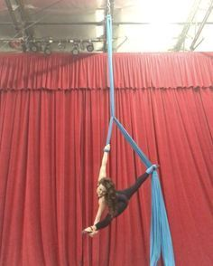 """AERIAL PHYSIQUE on Instagram: """"Belay Drop wearing my K-Boss Jumpsuit & @shashi_usa socks available on www.shopaerialphysique.com Just finished up awesome workshops with…"""""""