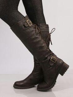 Botas! Linda! ( Spanish for Linda! Look Boots!)