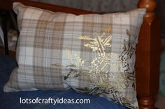 Placemat Pillow.  SEW easy!