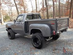 1978 440 Dodge Power Wagon. short bed. step side. 4X4 with under 56000 ...