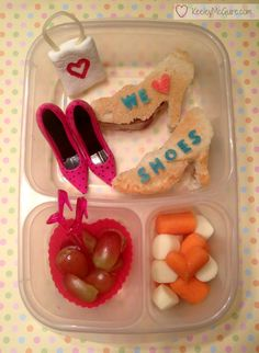 Lunch Made Easy: If the SHOE fits... Eat it!   Fun School Lunchbox Ideas for Kids