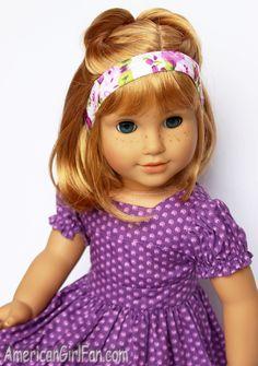 American Girl Short Doll Hair Style