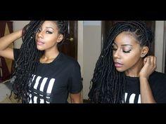 11 Women Rocking Goddess Locs, Summer 2016's Trending Style + How to Install Them