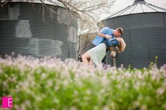 Engagement picture! Dancing on the farm!