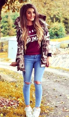 80 trend clothes back to school outfits ideas for teens Simple Winter Outfits, Winter Outfits Women, Winter Fashion Outfits, Kids Outfits, Casual Outfits, Grey Sweater Outfit, Sweater Outfits, Back To School Outfits, Get Dressed