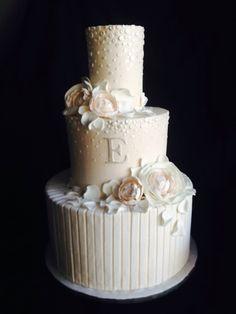 Blush Peony Cake