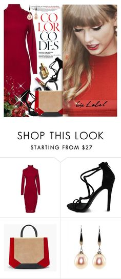 """""""6IX LABEL Adelaide Dress"""" by gorgeautiful ❤ liked on Polyvore featuring Chanel, White House Black Market, D&G and 6ixlabel"""