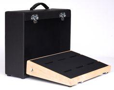 Handmade Hardwood Custom Figured Maple Pedalboard by Salvage Custom Pedal Boards