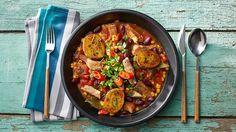 Připravte si dokonalé ragú z krkovice s kukuřicí a fazolemi podle Romana Pauluse. Najdete ho na našich stránkách Kuchyně Lidlu!