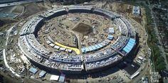 Lo stato avanzamenti lavori di Apple Campus 2 è uno dei più monitorati al mondo. Un nuovo video 4K mostra l'immensa pila di detriti che verrà riutilizzata e la copertura del centro fitness per i dipendenti