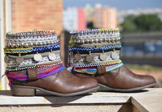 ETHNIC BOOTS COWBOY Boots Women Boots Apache por MISIGABRIELLA