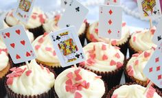 Alice in Wonderland Baby Shower. Cute and easy enough to do.